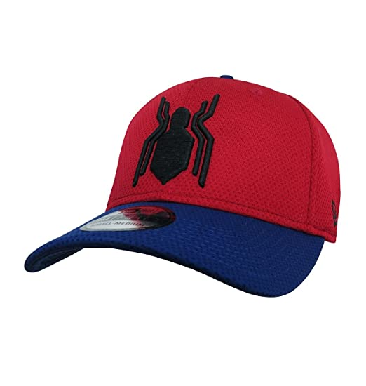 hot spider man homecoming logo 39thirty fitted hat medium large 645ac 4d678 6600069adebf