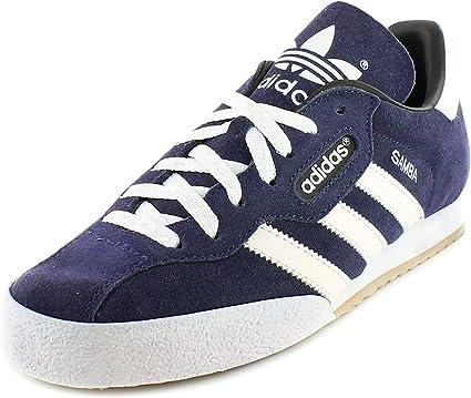 adidas Samba Super Suede Trainers - Men's - Navy/White -