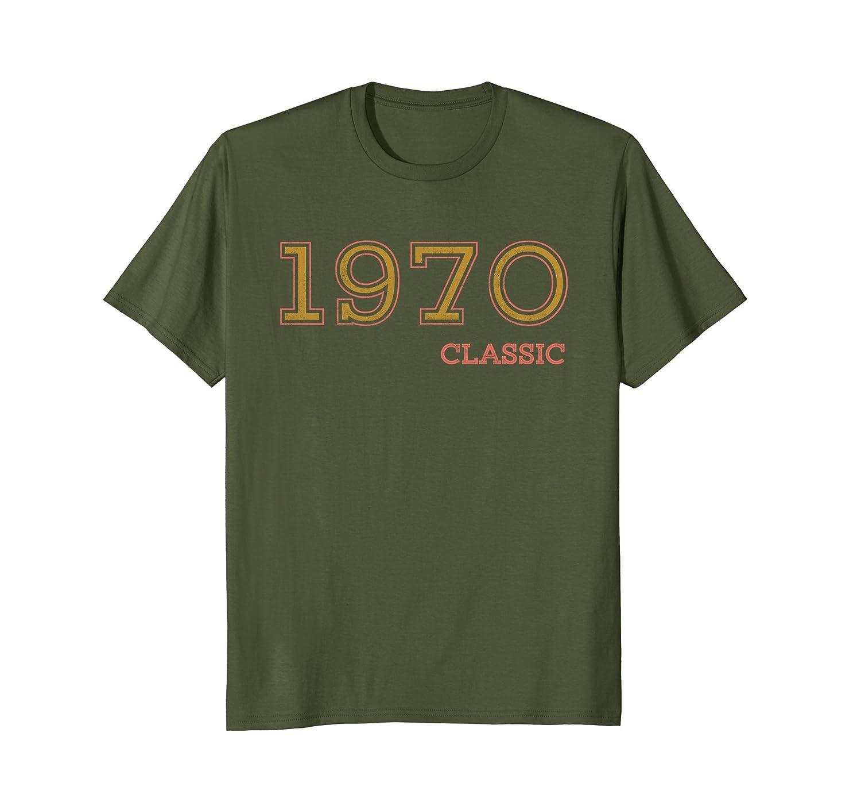 48th Birthday Vintage Tshirt, Classic 1970 Shirt, Gift Idea-alottee gift