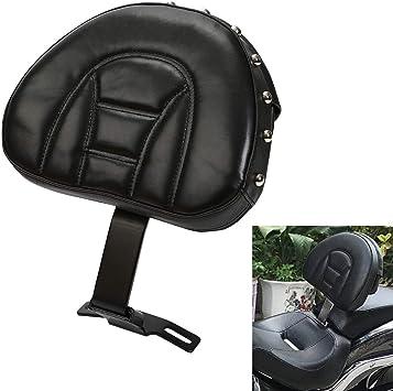 Adjustable Plug-In Driver Seat Backrest For 07-17 Harley Heritage Softail Fatboy
