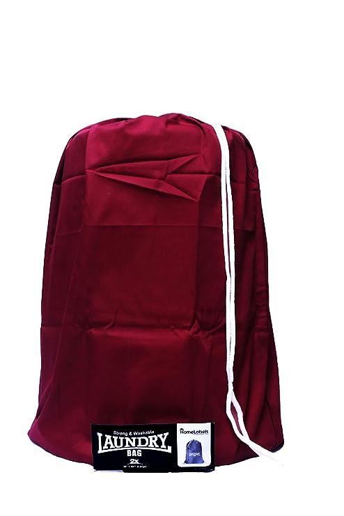 Amazon.com: HomeLabels - Bolsa de algodón para la colada, 2 ...