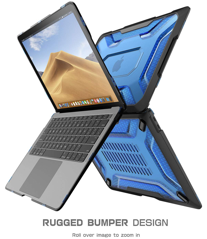 SUPCASE Custodia MacBook Air 13 2018 Forst//Blu Cover Rigida Ultra-Sottile TPU Bumper e Copertina Leggera Case per MacBook Air 13 A1932 con Touch ID e Retina Display Unicorn Beetle Series