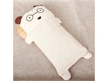 TjcmSs - Almohada de bebé recién nacido de algodón y cojín de cuello para dormir (