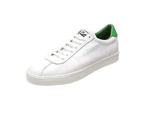 Superga 2843 Comfleau Sneaker Unisex Adulto Bianco WhiteNavy S903 42