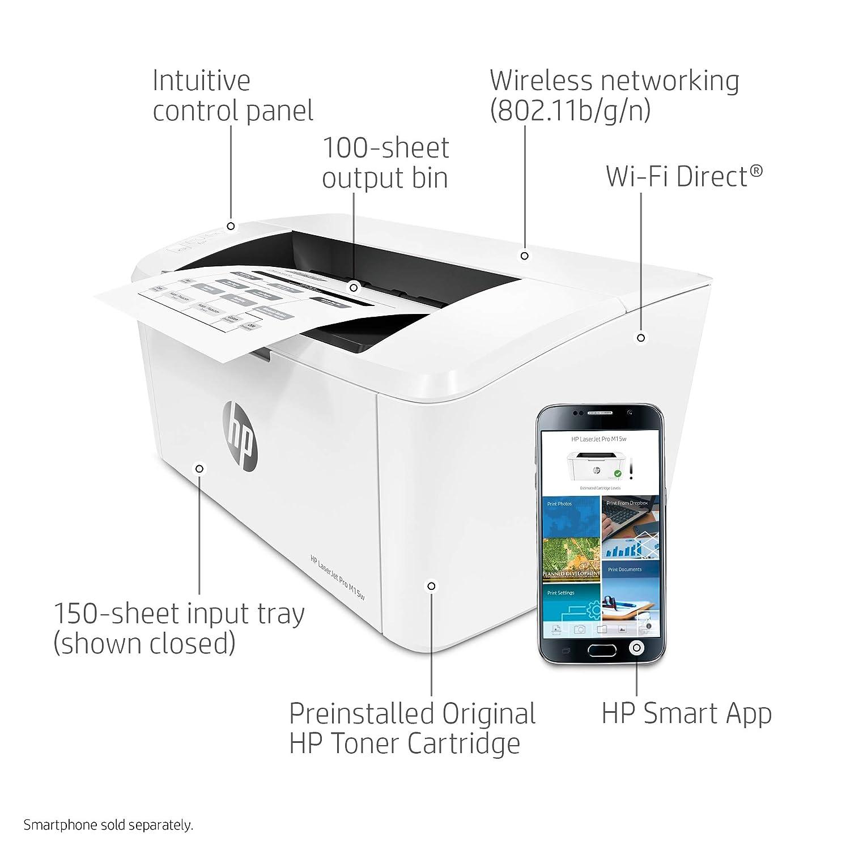 Amazon Com Hp Laserjet Pro M15w Wireless Laser Printer W2g51a
