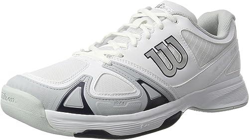 Wilson Homme Chaussures de Tennis, Tissu Synth/étique RUSH EVO CARPET