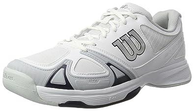 Wilson Rush Evo, Zapatillas de tenis para Hombre, Blanco (White ...