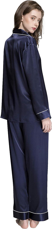 Mens Silk Satin Pajamas Set Sleepwear Loungewear S~3XL Plus/_/_Gifts