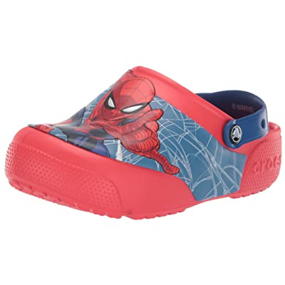 Crocs Kids' Boys and Girls Spiderman Light Up Clog | Mules & Clogs