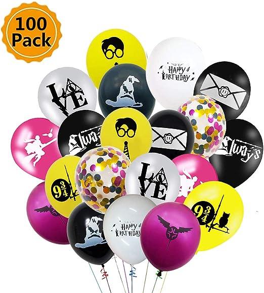 Harry Potter Fête Ballons en Latex Hélium Anniversaire enfants Décorations Fournitures X 8