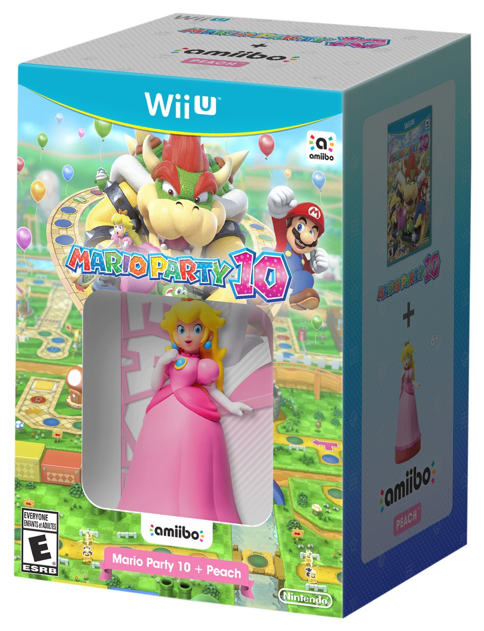 Mario Party 10 + Peach amiibo - Wii U