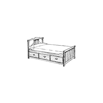 Woodworking Project Paper Plan To Build Captain S Bed Indoor