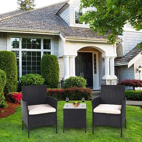Amazon.com: UFI - Juego de muebles de patio para exteriores ...