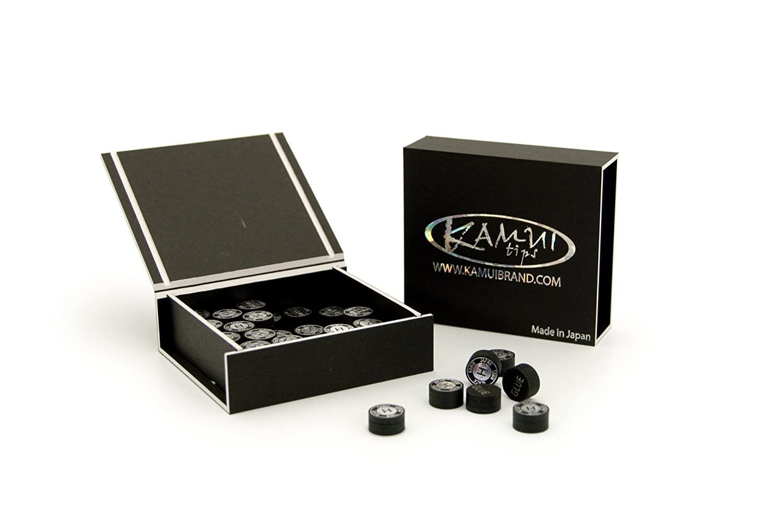 Klebeleder Kamui black H hard 13 mm