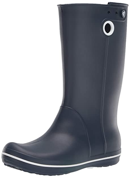 8c7be5c6d Crocs Women s Crocband Jaunt Rain Boot  Crocs  Amazon.ca  Shoes ...