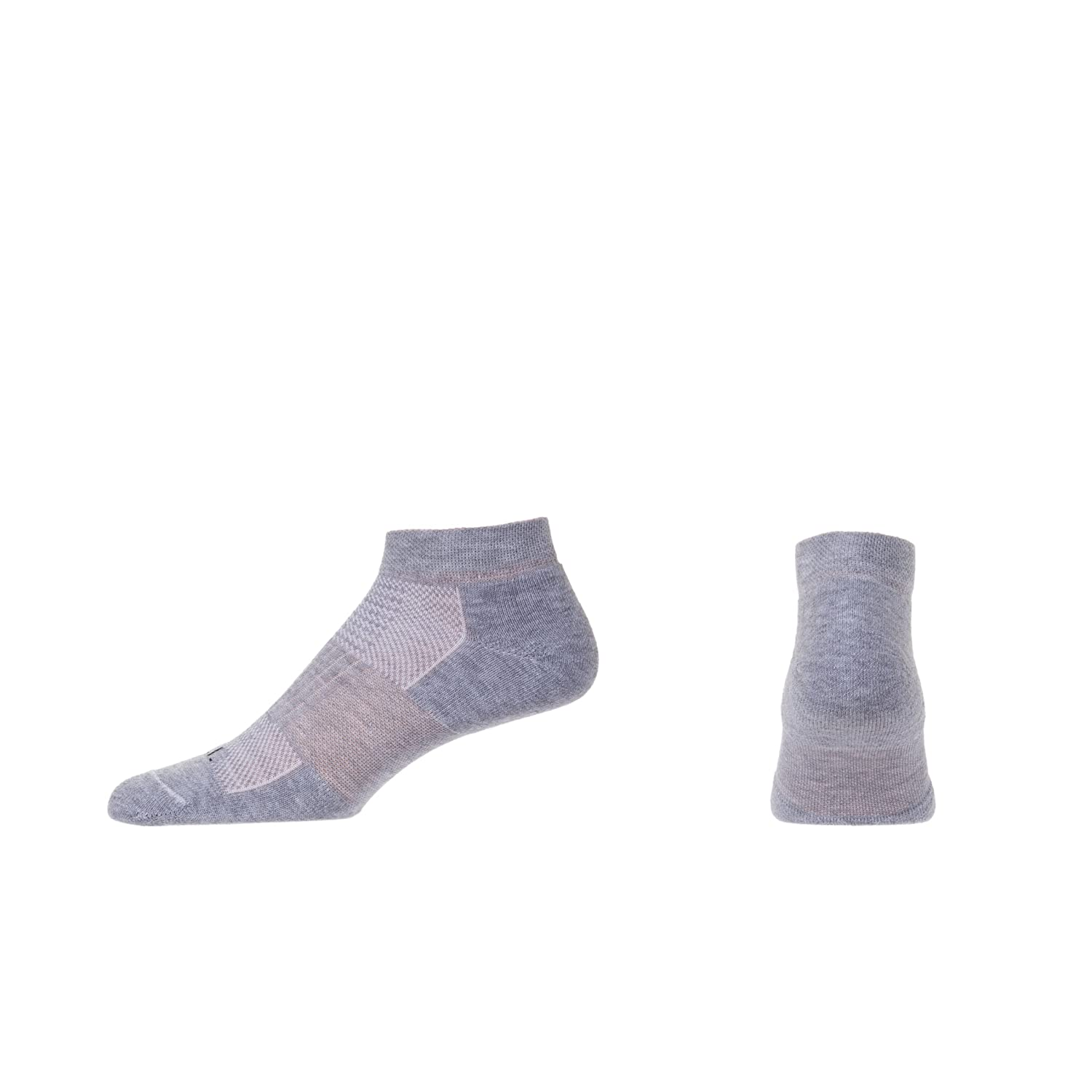 Casual Comfort No-Show Socks C.S.I 3-pair Made in the USA