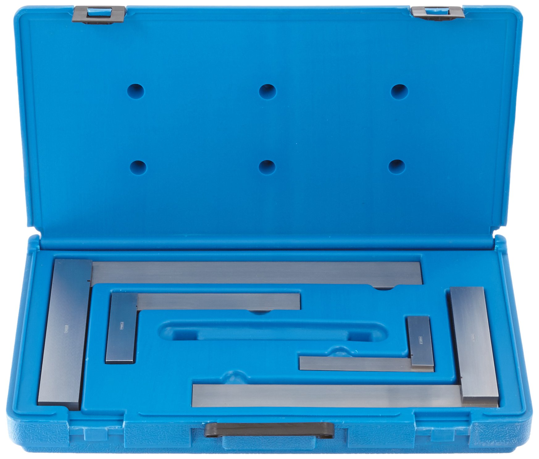 Fowler 52-432-469 Machinist Hardened Steel Square Set, 4'', 6'', 9'', 12'' Blade Size by Fowler (Image #2)