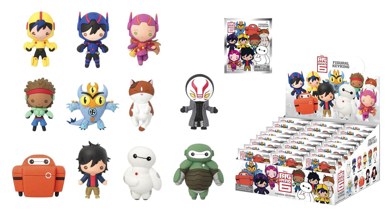 Disney Big Hero 6 Big Hero 6 Mini Figure Keyring Mystery Pack
