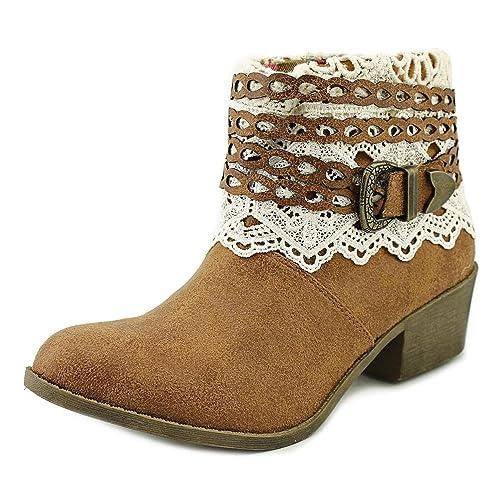 Tigerbear Republik - Botines de Vaquero Cactus para Mujer, Beige (Tan Cowboy), 8 B(M) US: Amazon.es: Zapatos y complementos