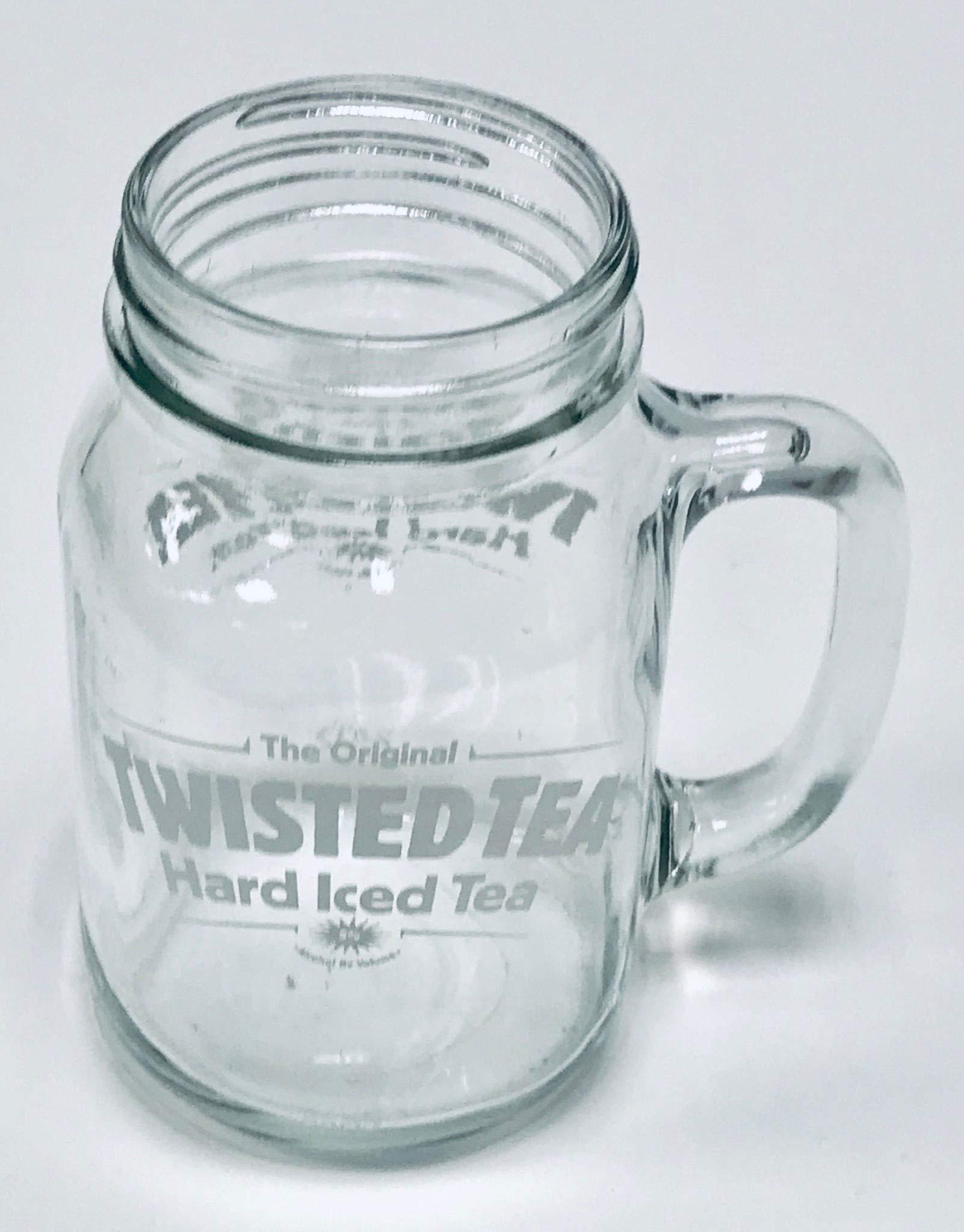 Twisted Tea 22oz Mason Jar Mugs | Set of Two (2) by Twisted Tea (Image #3)