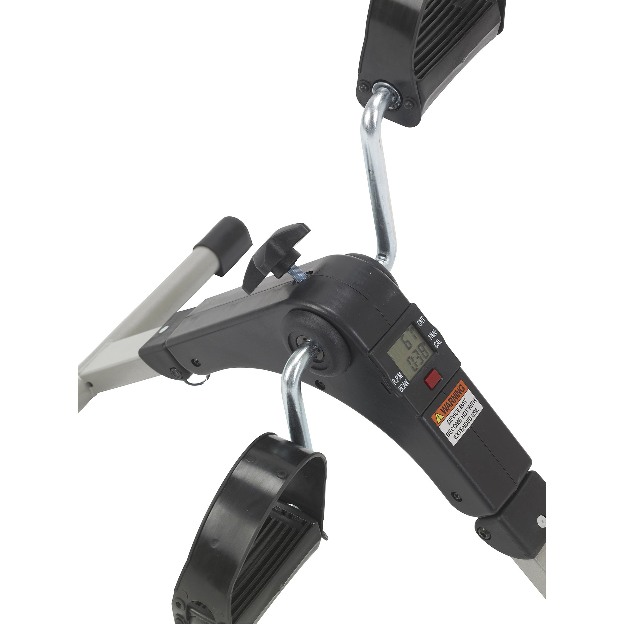 Drive Medical Deluxe Folding Exercise Peddler with Electronic Display , Black Model # RTL10273 by Drive Medical (Image #5)