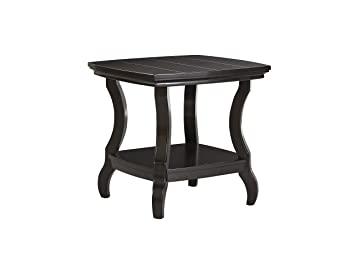 Tellbane Coffee Table.Signature Design By Ashley Tellbane Black Square End Table Amazon