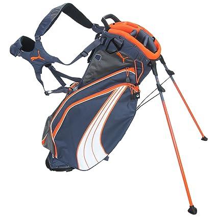 8e985b3fc578 Amazon.com   PUMA Form Stripe Stand Golf Bag-Folkstone Orange-OSFA ...