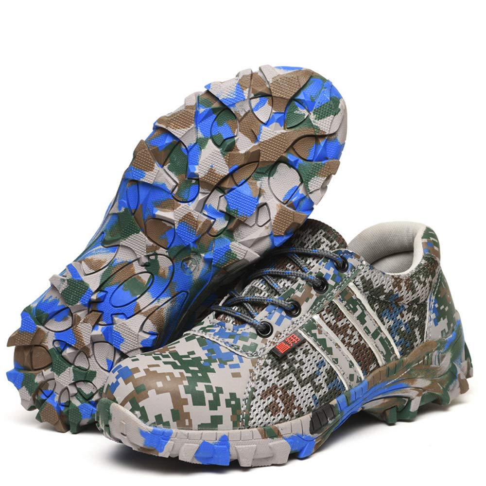 Men's schuhe Herren Herren Herren Sicherheitsschuhe atmungsaktiv und Anti-Smashing, 36-44 Tarnung grün Stahlkopf Stahlplatte Schutzwerkzeug Schuhe Freizeitschuhe Fyxd 43f9b0