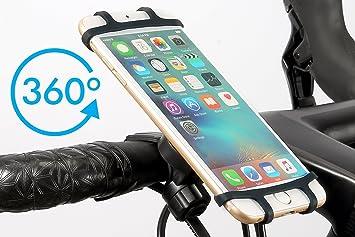 """Soporte móvil bicicleta y moto premium para smartphone de 4,7""""- 6"""""""