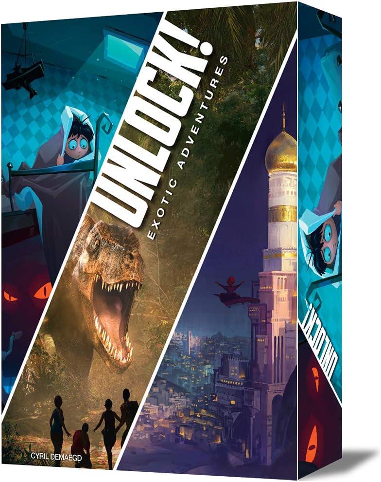 Asmodee - Unlock! Exotic Adventures - Español (SCUN0005): Amazon ...
