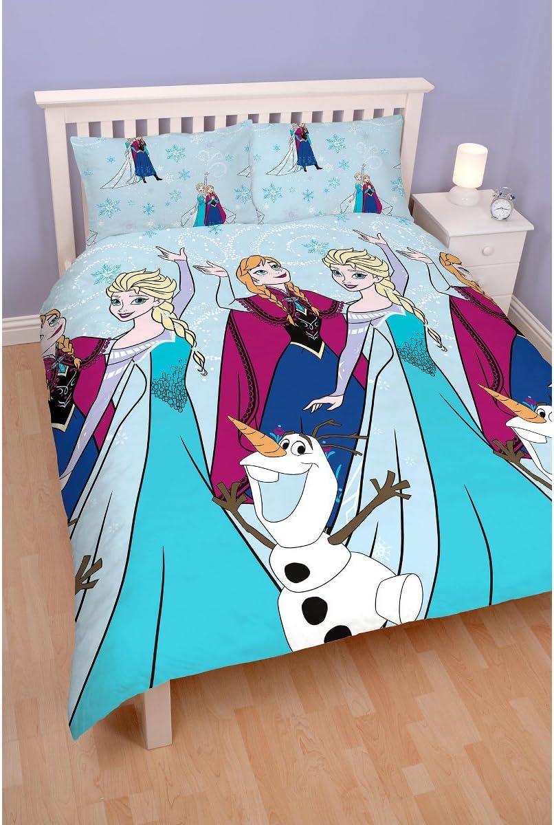 /Repetitive Print Design Disney Frozen Leuchten Double Duvet Set/