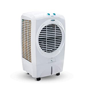 Symphony Siesta Desert Air Cooler 45-litres with Cool Flow Dispenser, Powerful Fan, Specially Designed Grill for Better Air Flow & Low Power Consumption (White)
