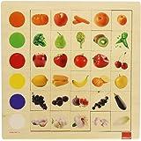Goula - 55134 - Jeu Éducatif et Scientifique - Association Couleurs - Fruits