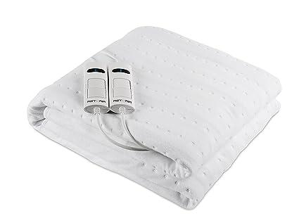 Astoria AD160A Calentador de cama eléctrico 120W Blanco Tela - Manta eléctrica (1600 mm,