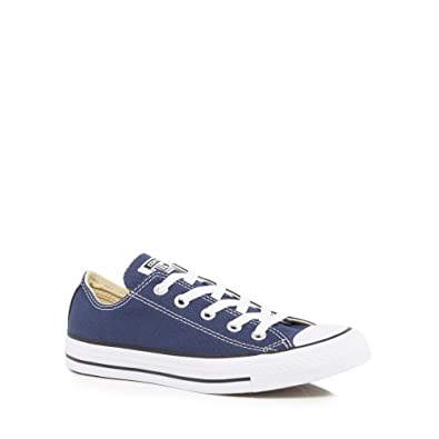 Converse Womens Navy  All Star  Lace Up Shoes  Amazon.co.uk  Shoes ... efe4c4bed