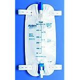 Teleflex Medical Inc Teleflex Easy-Tap Leg Bag, Medium, 19 oz, 500 ml, 18 Tubing, Anti-Reflux Valve, Cloth Straps, Easy Flip