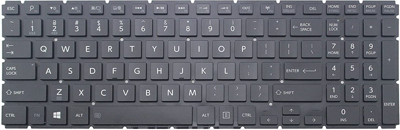 wangpeng New US black backlit keyboard for Toshiba Radius P55W-B5112 P55W-B5318D