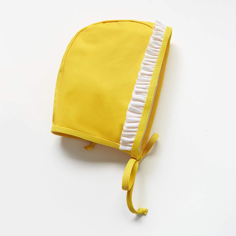 ADAVERANO Baby Girls Sunsuits//Swimsuits UPF 50 One Piece L//S Rashguards