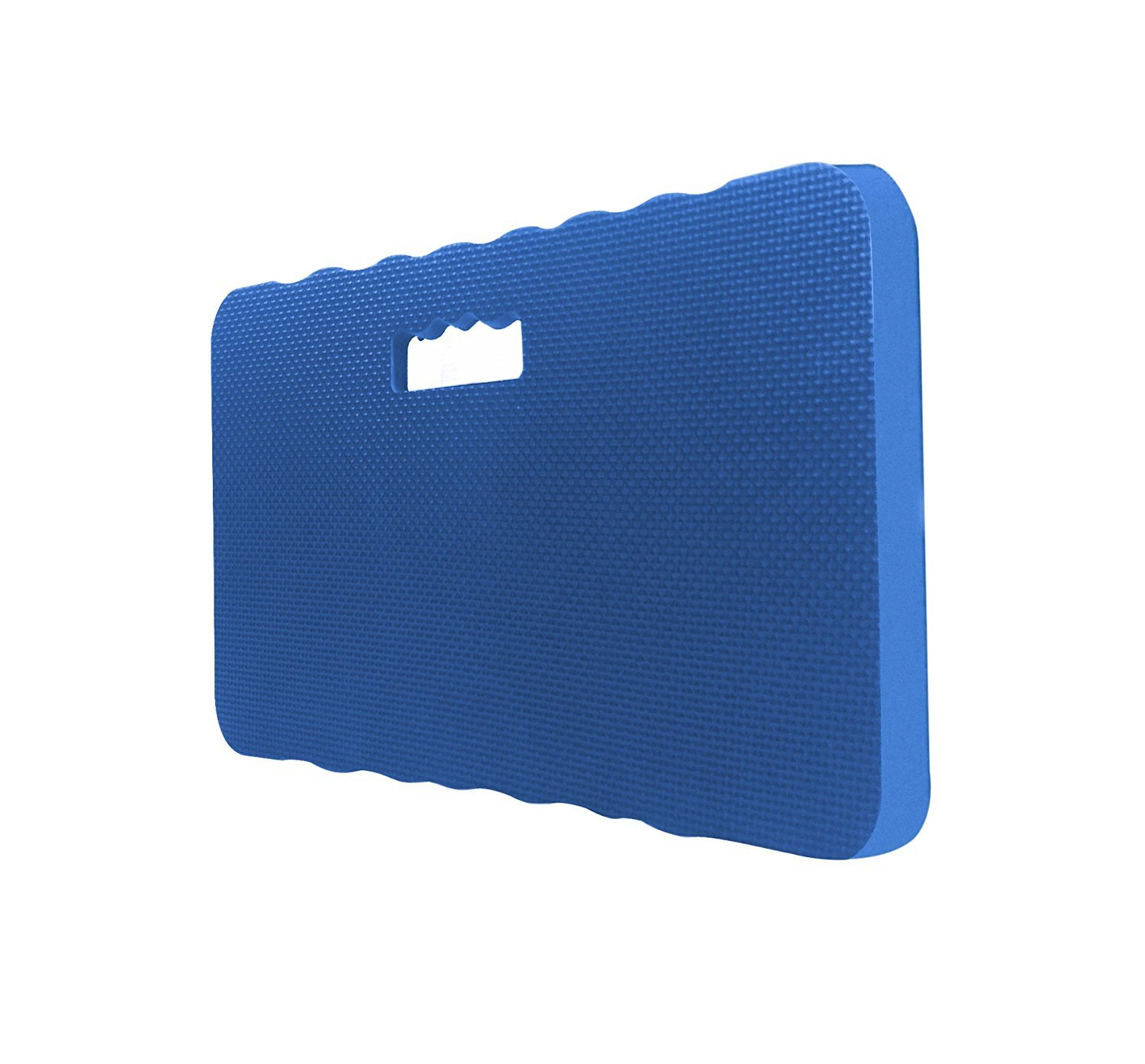 IUME Heavy Duty Thick Kneeling Pad Garden Kneeler for Gardening Knee Pad Bath Kneeler Foam Kneeling Mat Exercise for Yoga Baby Bath Prayers Thickness 1.57'' Extra Large 18IN x 11IN Blue
