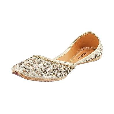 Beige Leather Fashion Sandals-6 UK