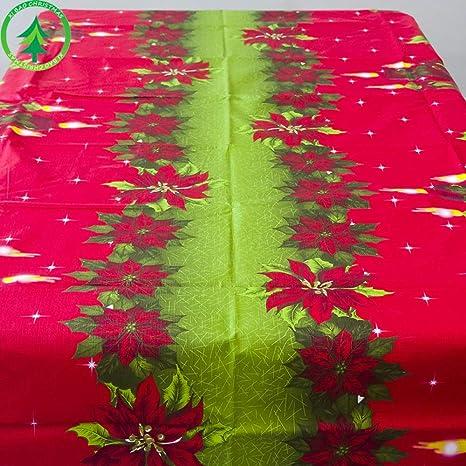 WYYF Serie De Navidad Mantel De Navidad Color PVC Mantel Hotel ...