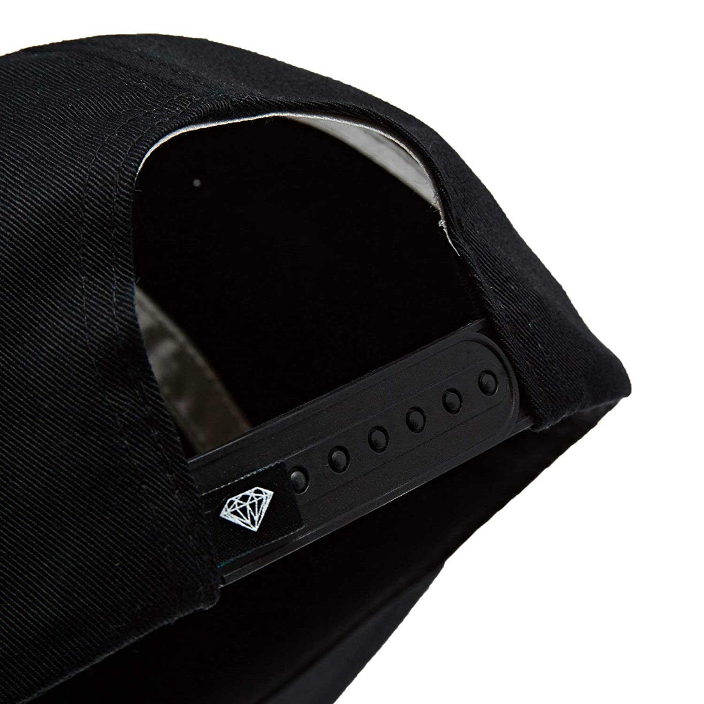 Diamond Supply Co Black Resort Snapback Hat