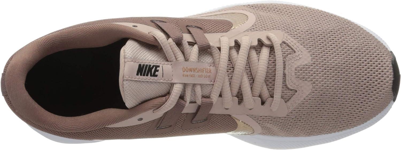 Nike Downshifter 9, Scarpe Da Corsa Donna Marrone Smokey Mauve Mtlc Red Bronze Blu Rosso 200