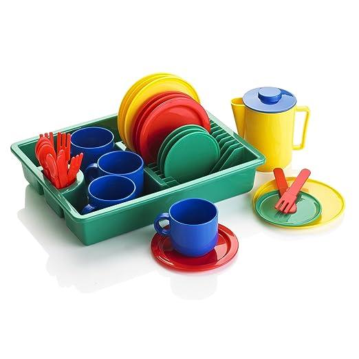 3 opinioni per KiddyPlay- Servizio stoviglie per bambini- 29 pezzi