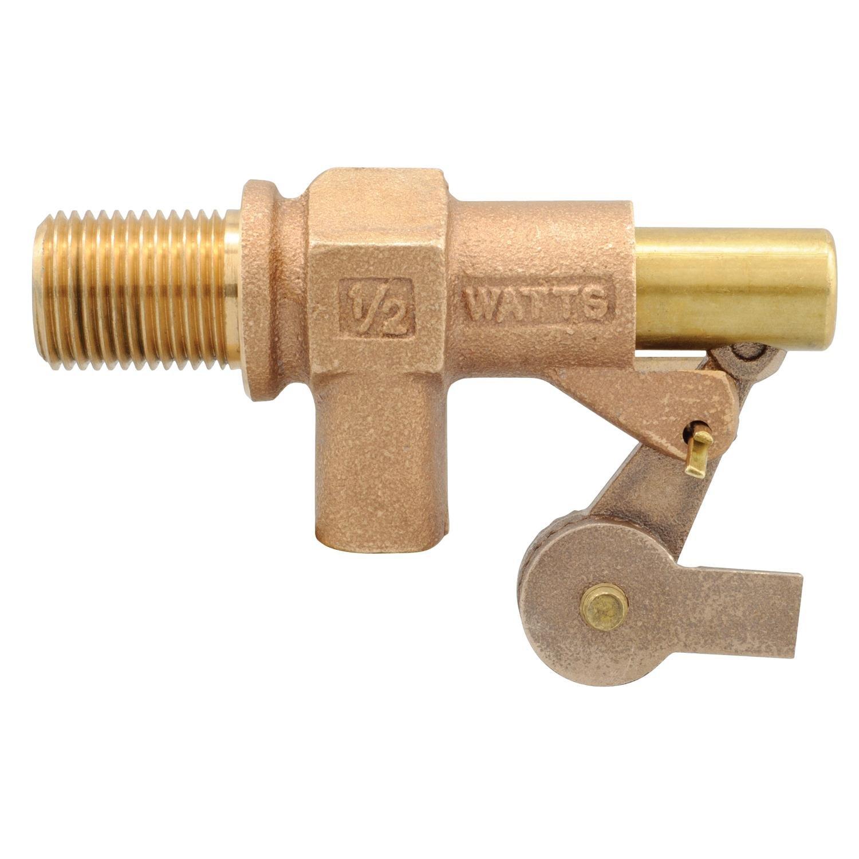 Watts 1/2 500-12 1/2-Inch Bronze Heavy Duty Float Valve, Locknut, Gasket