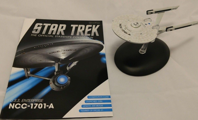 Amazon.com: Star Trek Starships Vehicle U0026 Collector Magazine #72: U.S.S.  Enterprise NCC 1701 A By Eaglemoss Publications: Toys U0026 Games