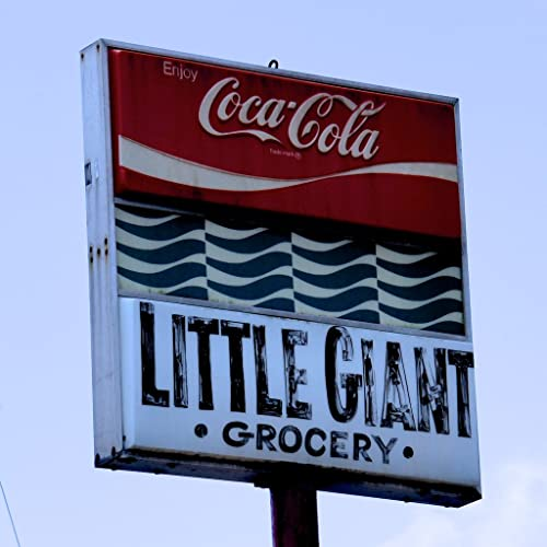 Old Grocer Sign, Kitchen Art, Little Giant Grocery Store, Digital Art  Photography