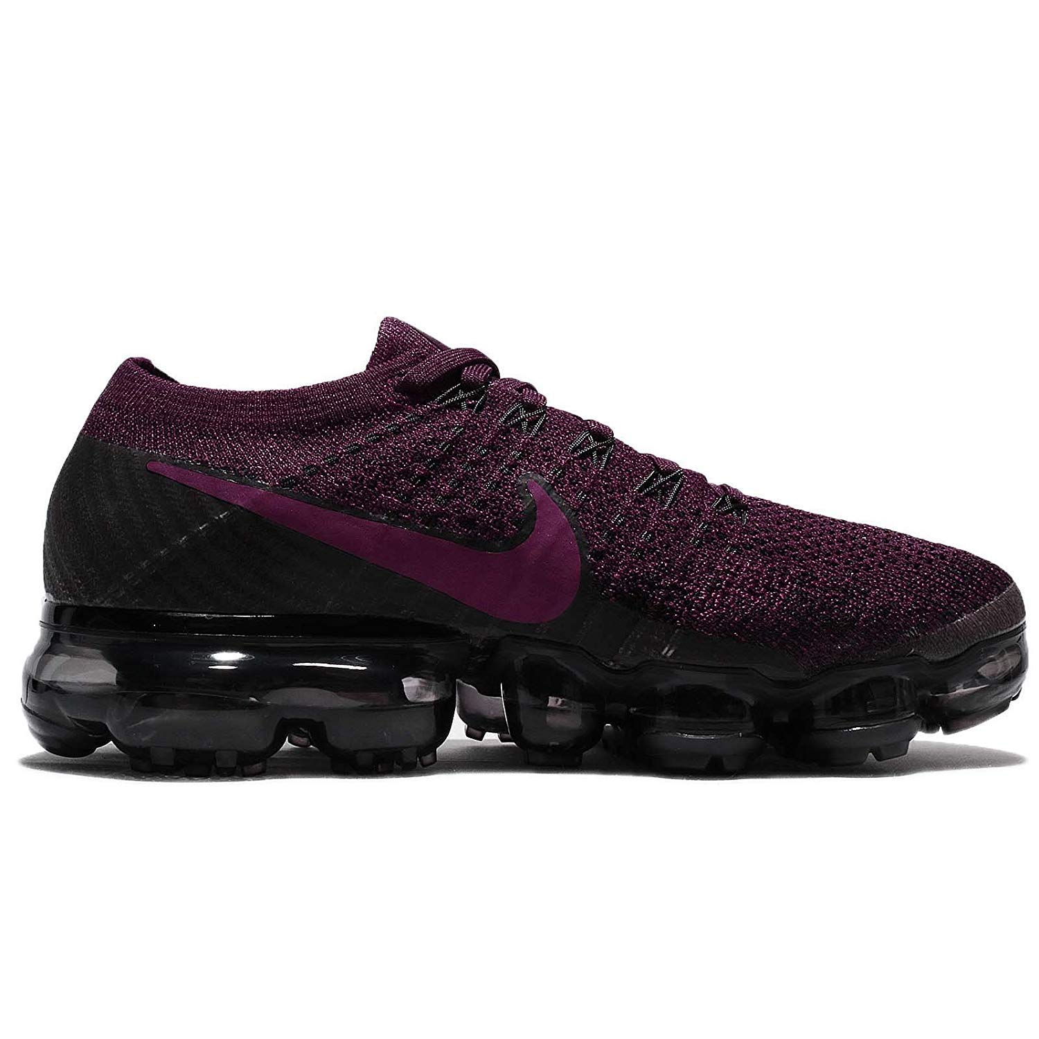 size 40 c38c9 73820 Amazon.com   NIKE Womens AIR Vapormax Flyknit Size 6.5 Bordeaux Berry Black    Road Running