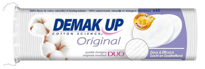 Demak'Up Original - Dischetti struccanti, confezione da 65, lotto di 5 39898