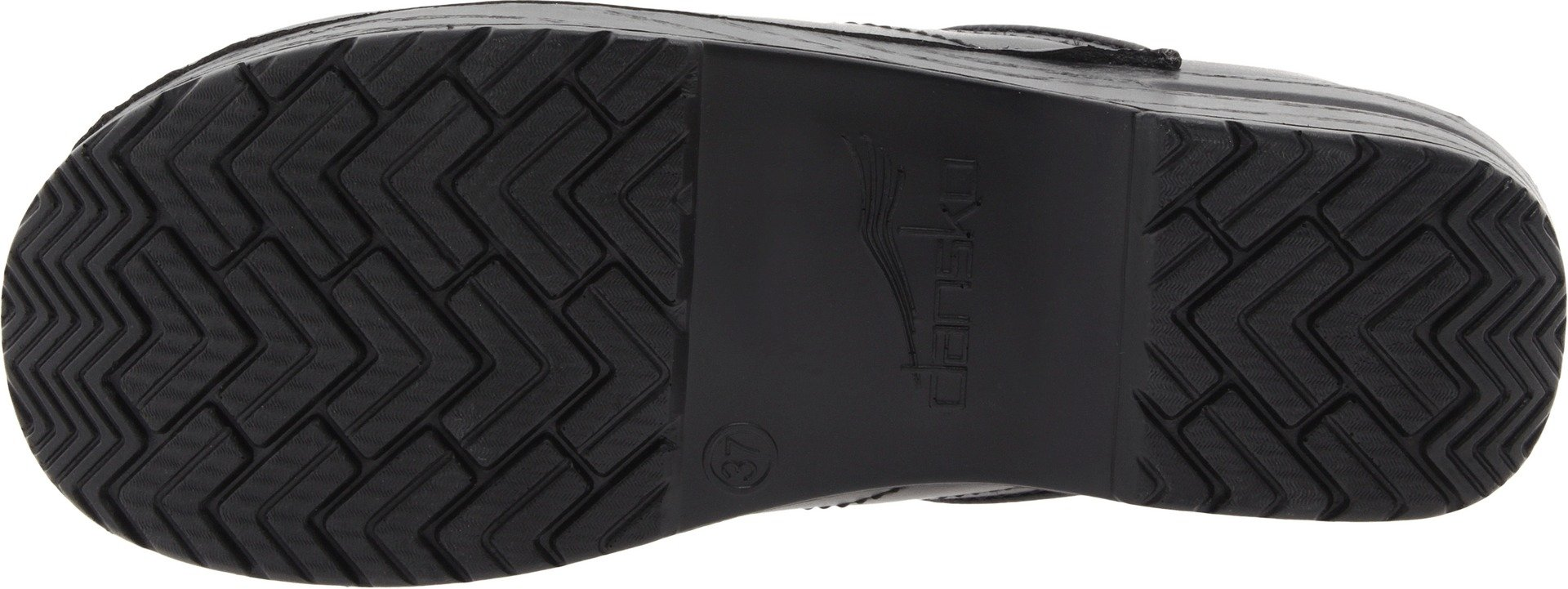 Dansko Women's Wide Professional Clog,Black Box,38 W EU / 7.5-8 D(W) US by Dansko (Image #3)